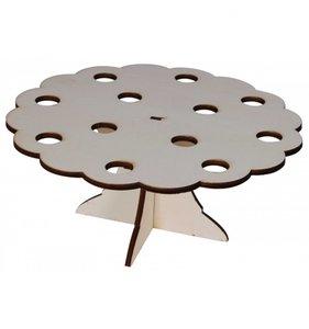 Expositor cucuruchos en madera para decorar