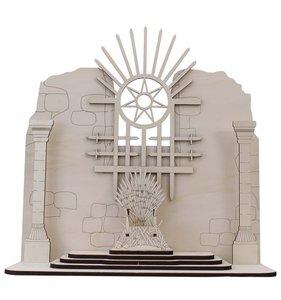 Escenario con trono colección Hielo y Fuego