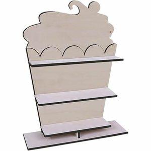 Expositor Cupcakes para mesas dulces