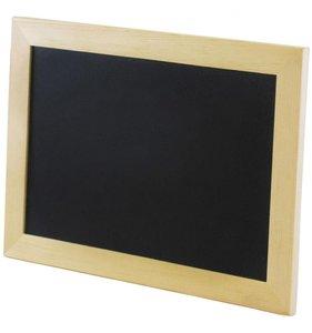Pizarra tipo marco de foto 23x16 cm