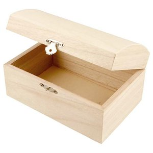 Set 2 cofres de madera