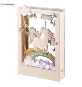 Kit diorama unicornio