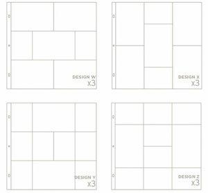 Pack BH de 12 fundas variadas nº 6