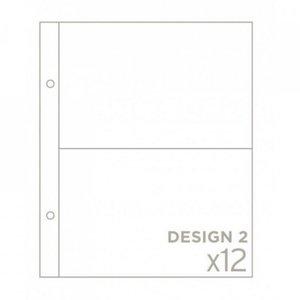 "Pack BH de 12 fundas 6""x8"" diseño 2"