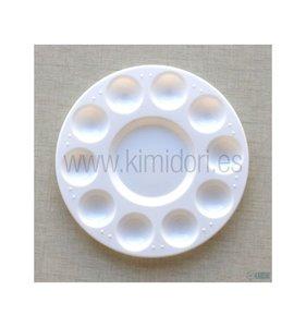 Paleta de plástico circular