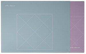 Base de corte autocicatrizante 45x60 cm Artis Decor Mint/Rosa
