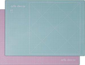 Base de corte autocicatrizante 48,5x33,5 cm Artis Decor Mint/Rosa