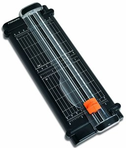 Cizalla Fiskars Surecut Reciclada para papel hasta 22 cm