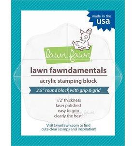 "Base para estampar Lawn Fawn 3,5"" / 8,9 cm"