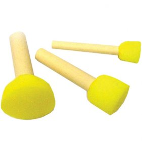 Set 3 pinceles de esponja