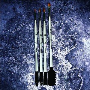 Set de pinceles doble uso para mix media