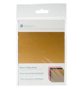 Hojas de aluminio colores para grabado Silhouette
