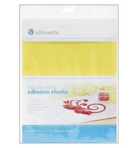 Hojas adhesivas doble cara para Silhouette