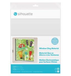 Hojas adhesivas Claras para vidrio Shilouette