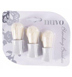 NUVO Blending Brushes 3 pcs