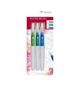 Set 3 pinceles rellenables Tombow Water Brush