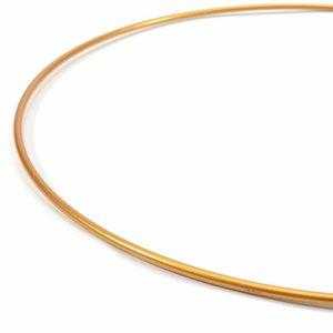 Aro de metal Oro 25 cm de diámetro
