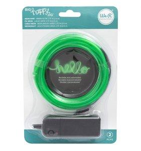 Filamento de neón Verde para Big Happy Jig
