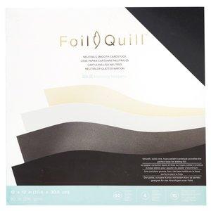 Stack de Cartulinas Foil Quill Neutrals
