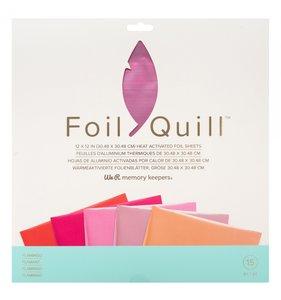 """Pad de foil 12x12"""" para Foil Quill Flamingo"""