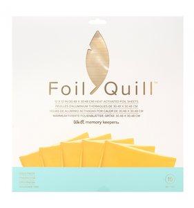 """Pad de foil 12x12"""" para Foil Quill Gold Finch"""