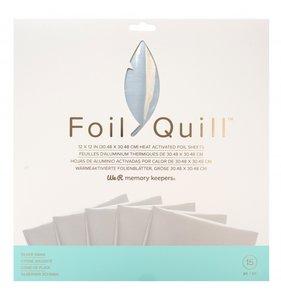 "Pad de foil 12x12"" para Foil Quill Silver Swan"