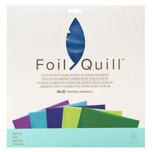 "Pad de foil 12x12"" para Foil Quill Peacock"
