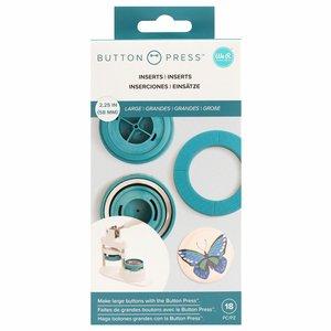 We R Button Press adaptadores para tamaño grande