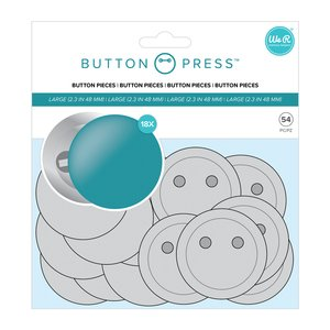 We R Button Press chapas tamaño grande 58 mm