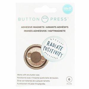 We R Button Press imanes adhesivos para cualquier tamaño