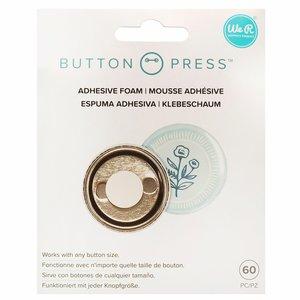 We R Button Press foam adhesivo para cualquier tamaño