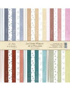 """Pack 12x12"""" Los Colores Mágicos de la Primavera"""