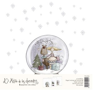 Pack de vellums Una Navidad de Abrazos de El Altillo de los Duendes