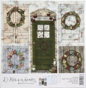 Kit de vellums Hechizo de Navidad de El Altillo de los Duendes 4 pcs