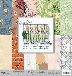"Kit 12""x12"" Urban Jungle Basics Quim Díaz"