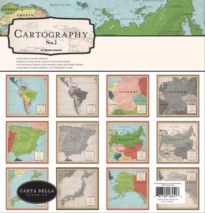 Kit Carta Bella Cartography nº 2