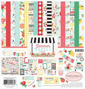 Kit Carta Bella Summer Market