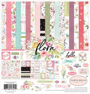 Kit Carta Bella Flora n3