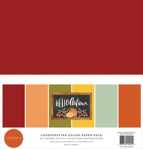 Kit Solids Carta Bella Hello Autumn