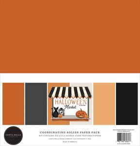 Kit Solids Carta Bella Halloween Market