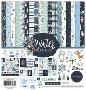 Kit Carta Bella Winter Market