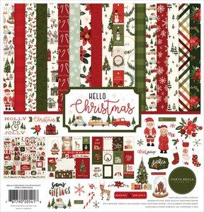 Kit Carta Bella Hello Christmas
