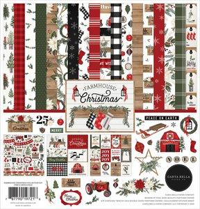 Kit Carta Bella Farmhouse Christmas