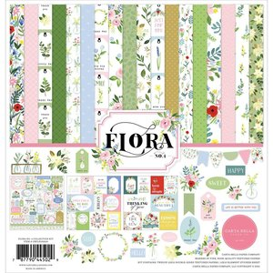 Kit Carta Bella Flora n4