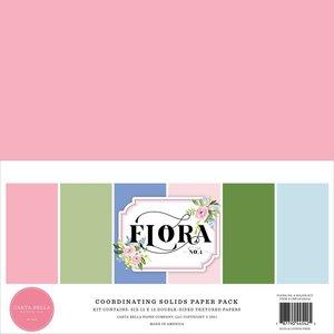 Kit Carta Bella Flora n4 Solids