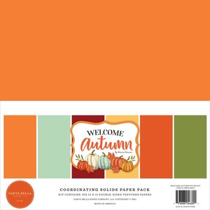 Kit Carta Bella Welcome Autumn Solids