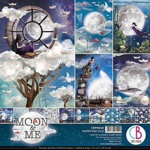 """Pad 12""""x12"""" Ciao Bella Moon & Me"""