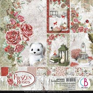 """Pad 12""""x12"""" Ciao Bella Frozen Roses"""