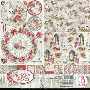 "Pad 12""x12"" Ciao Bella Frozen Roses Patterns"