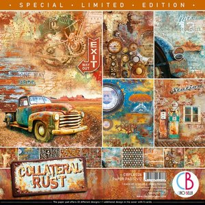"""Pad 12""""x12"""" Ciao Bella Collateral Rust Limited Edition"""
